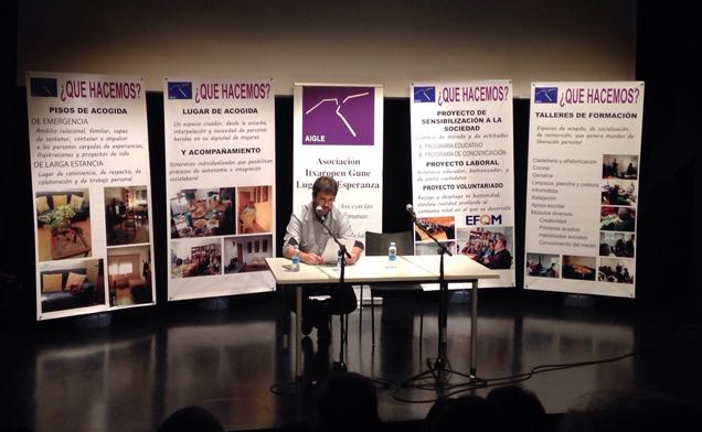 Sesiones de concienciación durante el X aniversario de Ixaropen-Gune