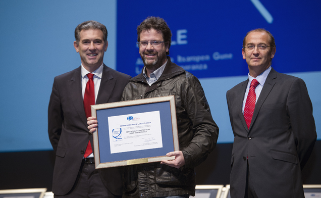 Itxaropen Gune recibe el diploma de calidad